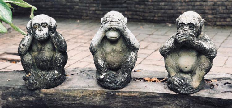 La sagesse des 3 singes va-t-elle régler les « crispations » sur la transition écologique ?