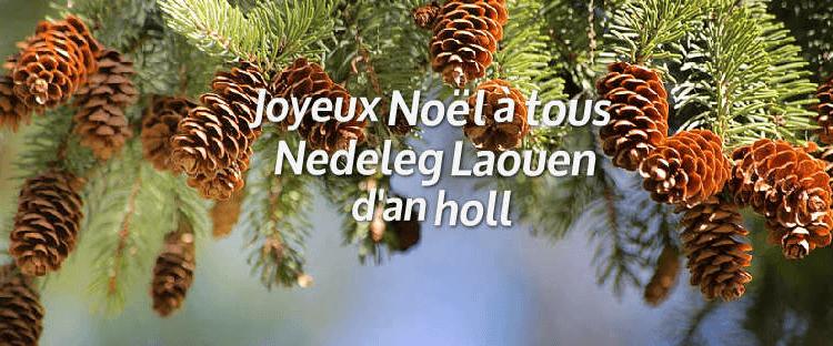 Nedeleg Laouen ! Joyeux Noël ! Pour la Bretagne !