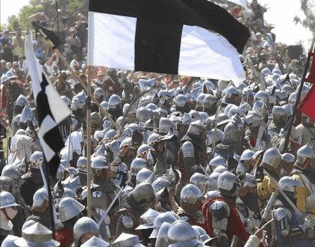5/5 La bataille de Saint-Aubin-du-Cormier… évidemment ….